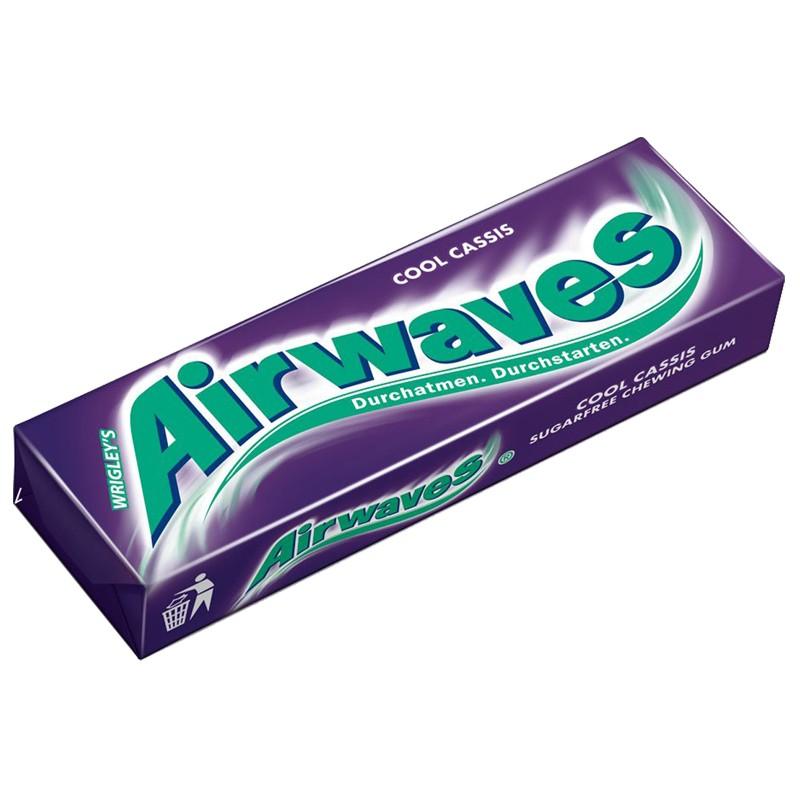 Wrigleys Airwaves Cool Cassis, Kaugummi, Dragee, 30 Pk
