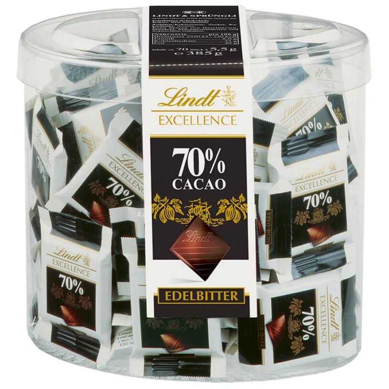 24-31-1kg-Lindt-Excellence-70-Mini-Tafeln-Schokolade-70-Stueck