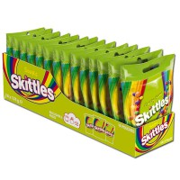 Skittles Crazy Sours 174g, Bonbons, Dragees, 14 Beutel