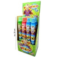 Mega Hypno Spray sauer, XXL Candy-Spray, zuckerfrei, 12 Stk