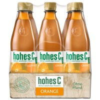 Hohes C Orange 500ml Orangen-Saft 12 Flaschen