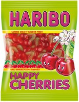 Haribo Happy-Cherries 200g, 5 Beutel