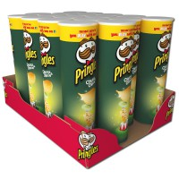 Pringles Cheese and Onion Chips Dose 190g, 18 Stück