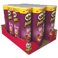 Pringles Texas BBQ Sauce Chips 190g Dose, Barbecue