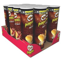 Pringles Hot & Spicy Chips Dose 190g, 18 Stück