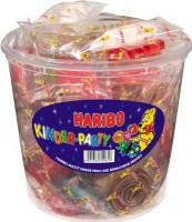 Haribo Kinder-Party Mix 850g Dose, Fruchtgummi