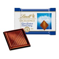 Lindt Excellence Mini Vollmilch Extra Cremig 1,1 kg, 200 Stk