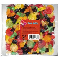 Red Band Fun Mix Fruchtgummi-Lakritz 500g Beutel 12 Stk