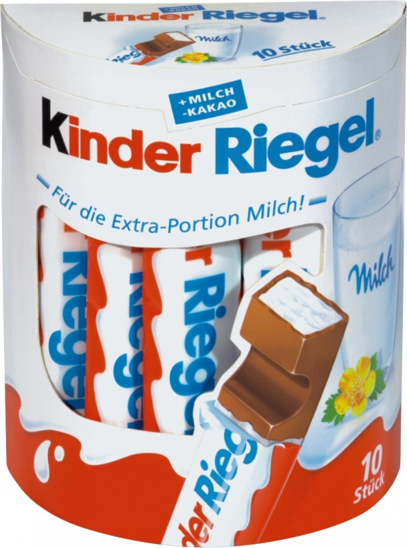 kinderriegel kinderschokolade