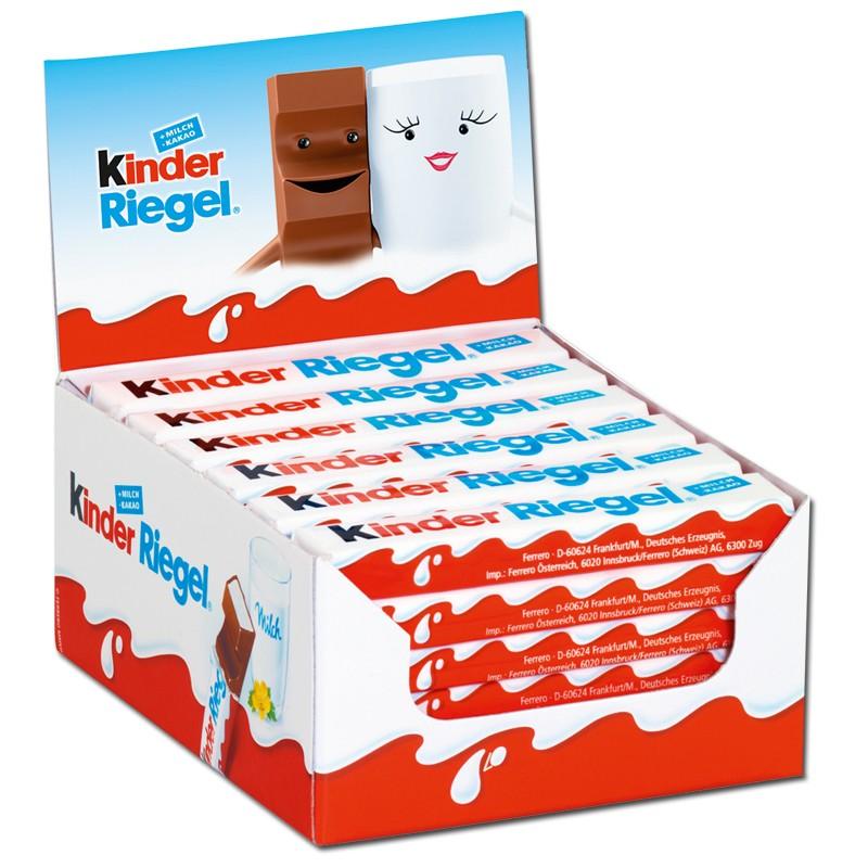 Kinderschokolade Riegel : Ferrero kinder riegel schokolade