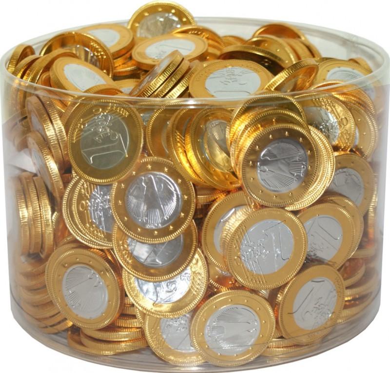 Schokomünzen