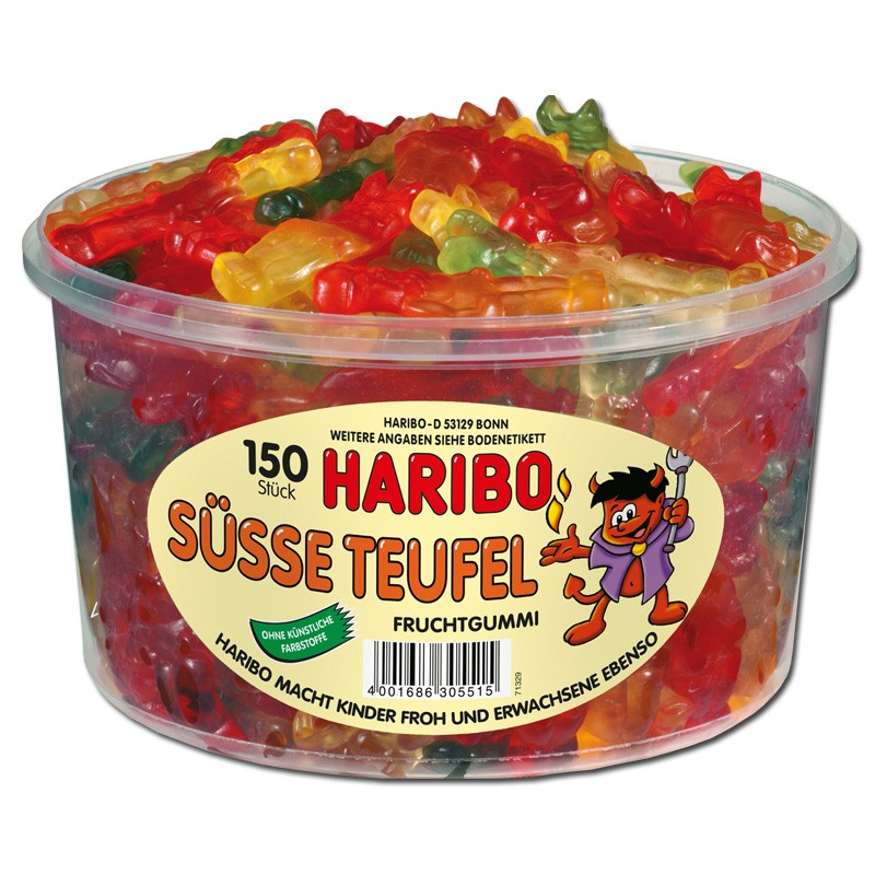 Haribo Fruchtschnecken