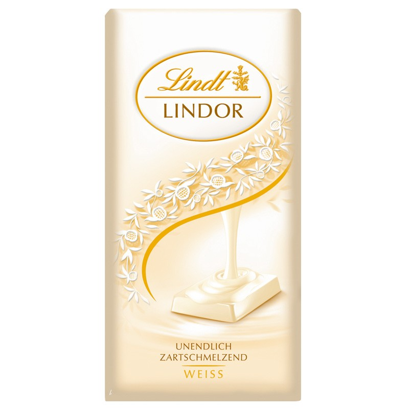 lindt lindor weisse schokolade 100g 12 tafeln schokolade tafeln lindt schokoladen tafel. Black Bedroom Furniture Sets. Home Design Ideas