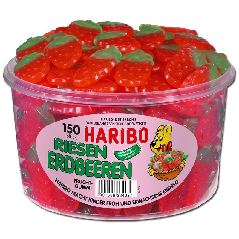 Haribo Riesen Erdbeeren Fruchtgummi 150 St 252 Ck