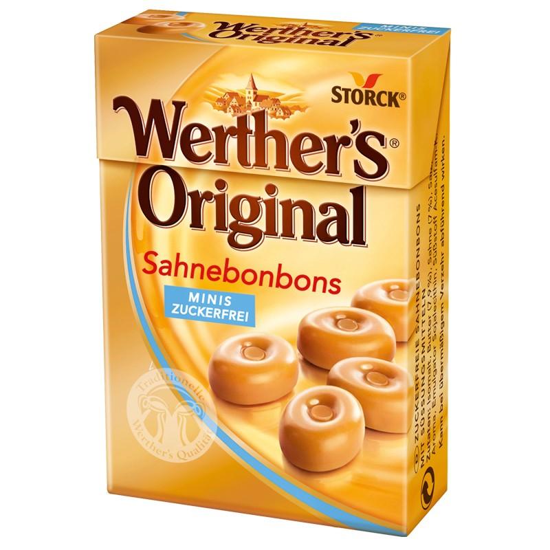 werthers orginal minis bonbon ohne zucker 10 packungen bonbons lutschbonbon stork bonbon