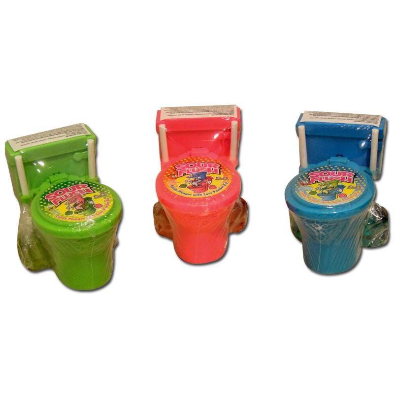 toilette sour flush candypulver lutscher lolli 12 st ck s sse kinderartikel. Black Bedroom Furniture Sets. Home Design Ideas
