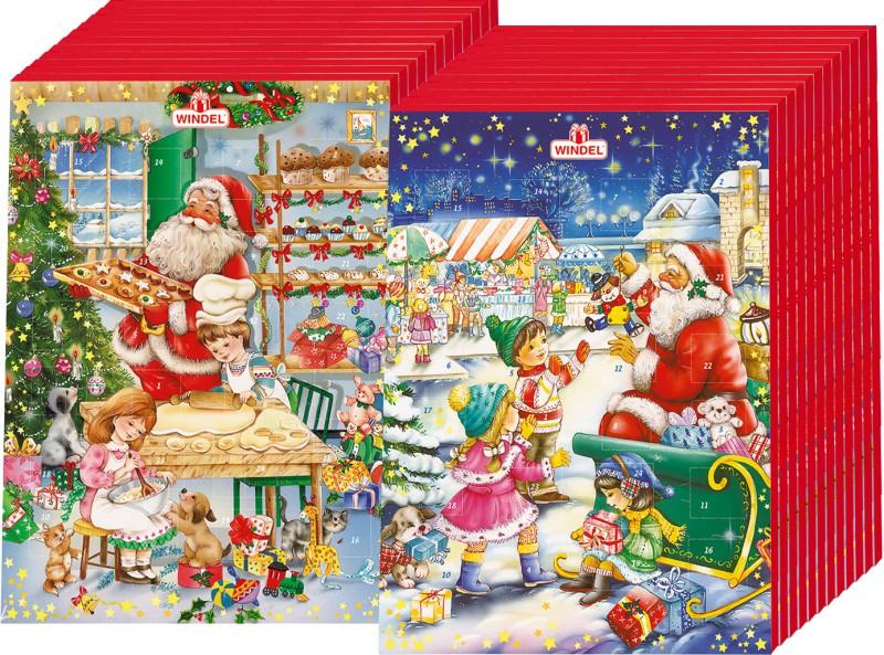 windel adventskalender 75g schokolade 24 st ck weihnachten adventskalender. Black Bedroom Furniture Sets. Home Design Ideas
